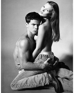 1992: Funky Bunch  The best part about a good pair of jeans is they go with everything, but Calvin Klein proved that they look best with pretty much nothing else. And okay, the bipolar pairing of Kate Moss and Wahlberg helped. A little.