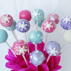 frozen cake pops - Google Search