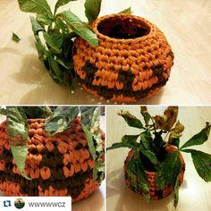 ❤ @wwwwwcz ・・・ Dynia  #dynia #pumpkin #KotToOn #tshirtyarn #haloween #jesień #autumn #crochet #szydełko #zpagetti #rękodzieło #homedesign  #ecofriendly #fabricyarn #szydelko #handmade #ręcznarobota #tyarn