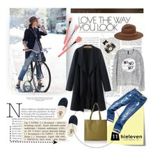 """Love The Way You Look"" by hielevencom ❤ liked on Polyvore featuring Post-It, rag & bone, Tommy Hilfiger, H&M, Betsey Johnson, Bdellium Tools, UGG and Viktor & Rolf"