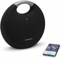 Harman Kardon Onyx Studio 5 Bluetooth Wireless Speaker (Onyx5) (Black)  | eBay Waterproof Bluetooth Speaker, Wireless Speakers, Bluetooth Headphones, Garmin Etrex, Xbox One Pc, Radio Wave, Harman Kardon, Pc Ps4, Gaming Headset