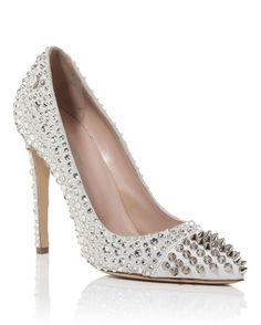 "Philipp Plein HIGH HEEL ""GREAT WHITE""   Buy ➜ http://shoespost.com/philipp-plein-high-heel-great-white/"