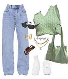 Komplette Outfits, Kpop Fashion Outfits, Indie Outfits, Dope Outfits, Retro Outfits, Cute Casual Outfits, Teenage Outfits, Polyvore Outfits, Stylish Outfits