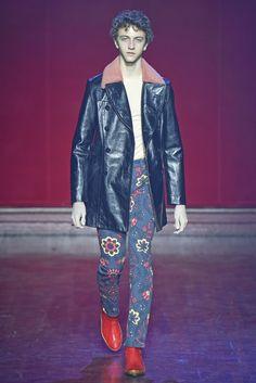 Maison Margiela Men's RTW Fall 2015 - Red boots!!