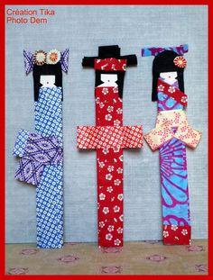 Par Karine Thiboult  Le pays du soleil levant est à l'honneur aussi bien dans la déco, la cuisine et les accessoires de mode ! Focus donc sur les kokeshis en origami, ...
