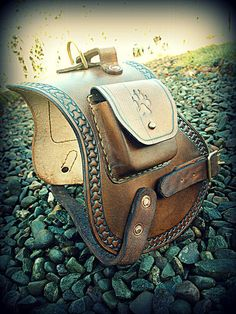 Leather Dog Harness by Hamish Half-Goat Odinson