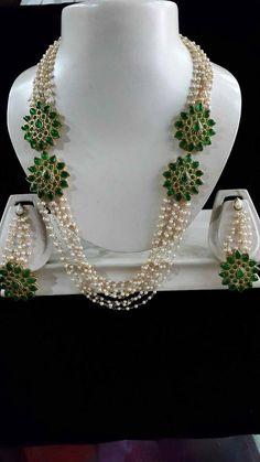 Kundan Shell Pearl Necklace
