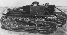 In particular the Vickers Carden-Loyd Mk VI tankette and Vickers-Armstrong E Tank provided the basis for several key early Red Army tanks. Description from russian-tanks.com. I searched for this on bing.com/images