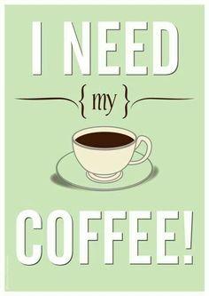 Oh sí por favor! ☕
