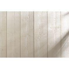 Lambris bois sapin brut de sciage blanc ARTENS, 205x13cm, ép. 12mm