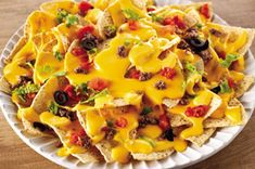 Discover the ultimate in cheesy, creamy, beefy deliciousness with VELVEETA® Ultimate Nachos. These ultimate nachos are can please a party in 15 minutes. Kraft Foods, Kraft Recipes, Appetizer Recipes, Snack Recipes, Appetizers, Cooking Recipes, Snacks, Beef Nachos, Mexican Food Recipes