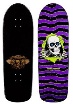 Powell Peralta Skateboards   Powell Peralta Ripper Deck Black/Purple 10x31.75