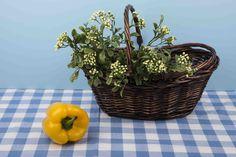 Vegetable Basket . #Healthy Basket #Vegetable basket #Healthy #Basket #Wicker Basket#Bell pepper Vegetable Basket, Bell Pepper, Gift Baskets, Wicker, Stuffed Peppers, Vegetables, Fruit, Healthy, Plants