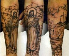 religiöse tattoo ideen unterarm motive