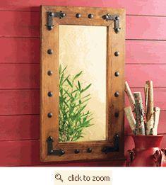 DIY Possible Mirror for spare bathroom???