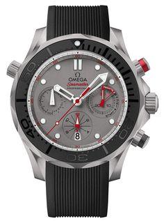 Ravageurs love watches. | Omega Seamaster Diver 300m ETNZ