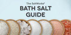 Making Bath Salts: Information & Recipes  | SaltWorks®