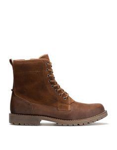 f36ca7136eff00 Bershka Deutschland - Stiefel kombiniert Lammfell Timberland Boots