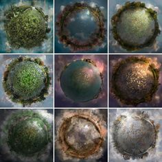 """Stereographic projection (AKA """"little planet"""") photography"""