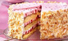 Johannisbeer-Sahne-Torte