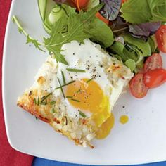 Best Vegetarian Recipes: Rösti Casserole with Baked Eggs | CookingLight.com