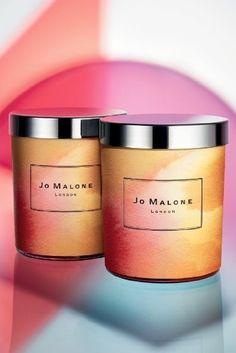 Painterly packaging: Jo Malone My Wanderlust by Charlotte Stockdale