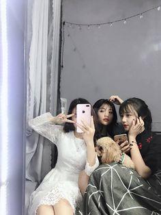 Ulzzang Korea, Korean Ulzzang, Ulzzang Girl, Korean Best Friends, Best Freinds, Bff Girls, Girl Friendship, Bff Pictures, Aesthetic Photo