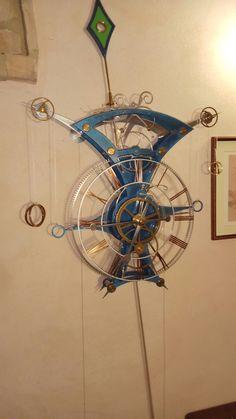 Grasshopper clock
