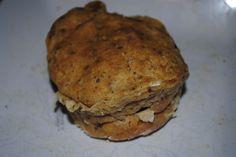 Savory Italian Microwave Muffin