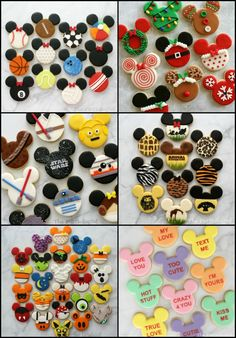 disney christmas cookies Weihnachtspltzchen The Partiologist: Animal Kingdom Cookies! Disney Desserts, Disney Food, Iced Cookies, Royal Icing Cookies, Cupcake Cookies, Animal Cupcakes, Cookie Frosting, Mickey Mouse Cookies, Disney Cookies