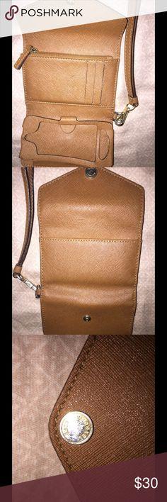 MK iPhone 4 case/wristlet Brown Michael Kors Bags Clutches & Wristlets