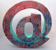 DIY Fabric Letter Decoration for @Celebrations.com by @coryanneettiene