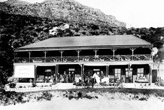 The Beach Hotel, Hout Bay Renamed The Chapmans Peak Hotel in 1961 Old Pictures, Old Photos, Cape Town South Africa, Travel Brochure, The Old Days, Beach Hotels, Wonders Of The World, Landscape Photography, Paris Skyline