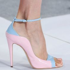 Brian Atwood Pastels..love it