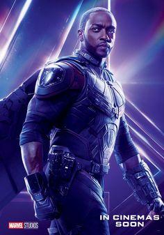 Póster Falcón Avengers Infinity War #Marvel