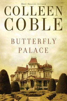 Butterfly Palace by Colleen Coble   Go to my blog   http://bemiown.blogsot.com  to read a little on the book and the author.