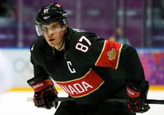 SOCHI, RUSSIAThey have done the international equivalent of cruise past a couple of hard-working yet ratty American Hockey League-calibre teams while climbing to Olympic altitude. And now the real flight plan begins for Team Canada. Olympic Hockey, Olympic Athletes, American Hockey League, Sidney Crosby, Sports Figures, Hockey Teams, Best Player, Then And Now, Olympics