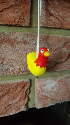 Chicken Light Pull with glow in the dark eyes by HandmadeNorfolk on Etsy Light Pull, Dark Eyes, The Darkest, Polymer Clay, Cool Designs, Glow, Chicken, Handmade, Etsy