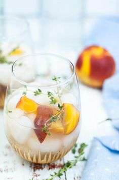 This peach cocktail has arrived just in time for peach & pool season! With an easy to make simple syrup, fresh peaches, thyme, and your favorite liquor this delicious peach gin cocktail will be one beverage you'll want to drink all summer long. When it comes to thirst-quenching summer cocktails it's impossible to go wrong with a spritzer, especially one packed with juicy peaches and thyme! Combining the sweetness of peaches and honey with the refreshing spice of thyme and floral tang of gin…