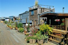 What to Do in San Francisco | The houseboat community in Sausalito became established in the 60s ...