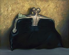 """Purse"" Vladimir Kush Jill!! I didn't even realize this was kush until after I read the description. It's so cool!"