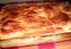 Szerb gibanica Lasagna, Mashed Potatoes, Pizza, Bakery, Food And Drink, Ethnic Recipes, Pastries, Whipped Potatoes, Smash Potatoes