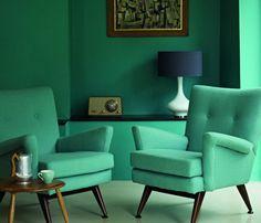 Ambientes en un esquema tonal o monocromático - Casa y Color