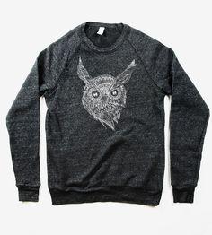 Night Owl Sweatshirt by Naturwrk on Scoutmob