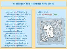 descripción de la personalidad de una persona