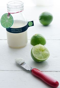 Homemade Lime Hand Cream Recipe with Printable Label