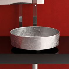 Rho Lux Sink Silver Leaf now featured on Fab. Oohhh the bathroom would be so awesome with this.