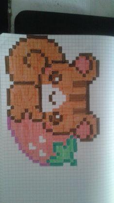 pixel art - Page 2 Pixel Art, Graph Paper, Art Pages, Pattern Art, Perler Beads, Beading Patterns, Creations, Cross Stitch, Doodles