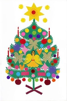 197 best polish christmas images on pinterest polish christmas wycinanki christmas card oh christmas tree m4hsunfo
