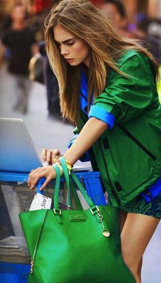 Green + Blue = The Fantastic Look!